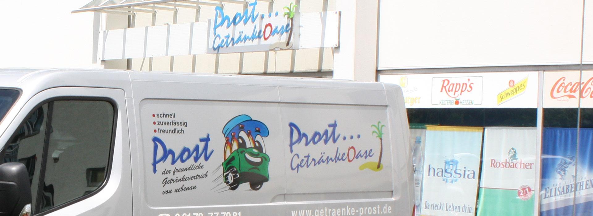 PROST Getränke Lieferservice | GetränkeOase Friedrichsdorf ...